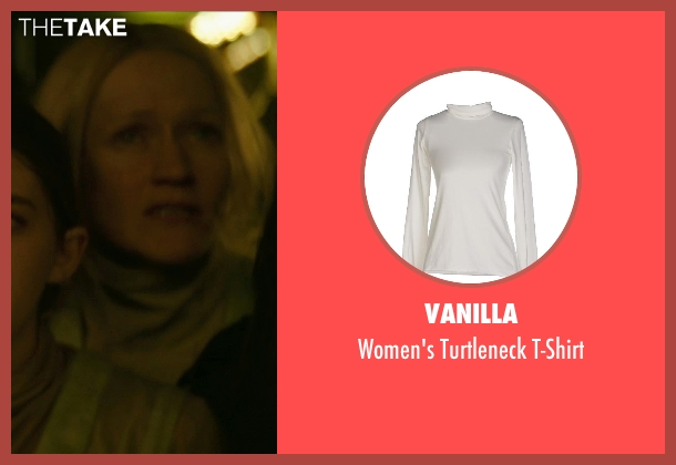 Vanilla white t-shirt from The Hunger Games: Mockingjay Part 1 seen with Paula Malcomson (Katniss' Mother)