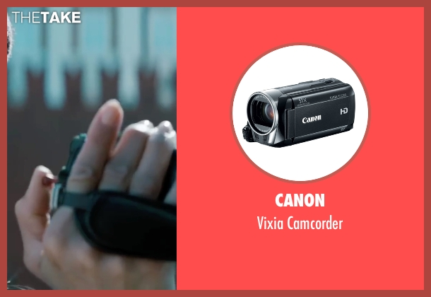 Canon camcorder from Mission: Impossible - Ghost Protocol seen with Paula Patton (Jane Carter)