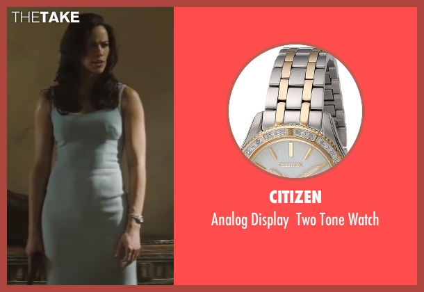 Citizen silver watch from Mission: Impossible - Ghost Protocol seen with Paula Patton (Jane Carter)