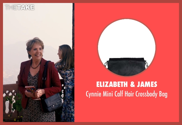 Elizabeth & James black bag from The Second Best Exotic Marigold Hotel seen with Penelope Wilton (Jean Ainslie)