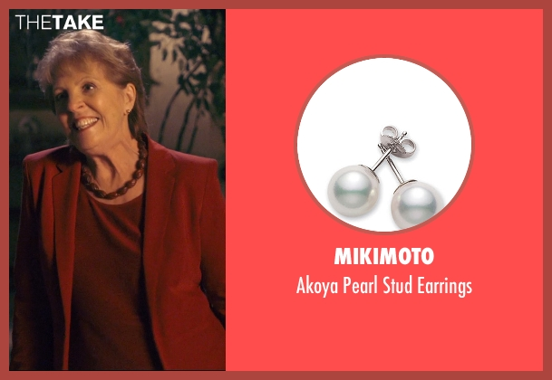 Mikimoto earrings from The Second Best Exotic Marigold Hotel seen with Penelope Wilton (Jean Ainslie)