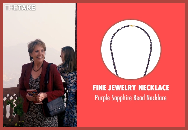 Fine Jewelry Necklace necklace from The Second Best Exotic Marigold Hotel seen with Penelope Wilton (Jean Ainslie)