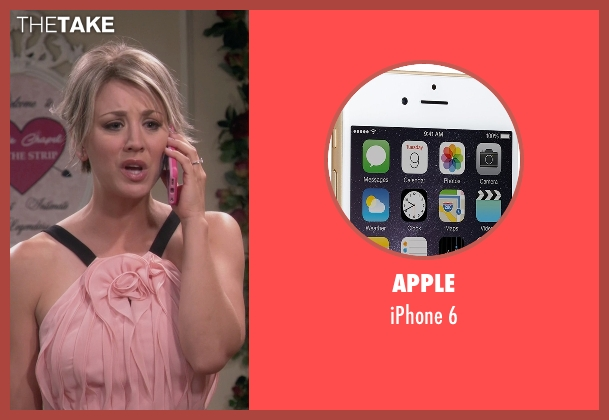 Apple 6 from The Big Bang Theory seen with Penny (Kaley Cuoco-Sweeting)