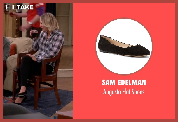Sam Edelman black shoes from The Big Bang Theory seen with Penny (Kaley Cuoco-Sweeting)