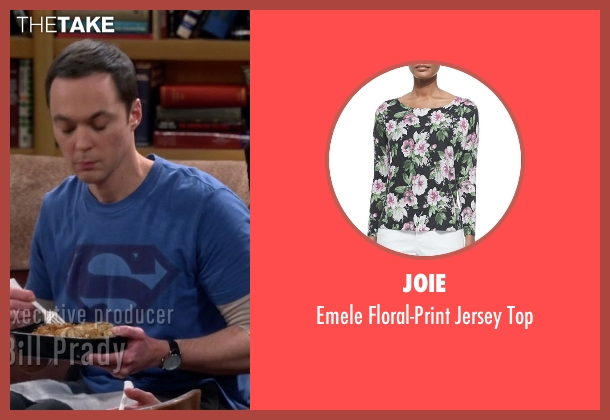 Joie black top from The Big Bang Theory seen with Penny (Kaley Cuoco-Sweeting)