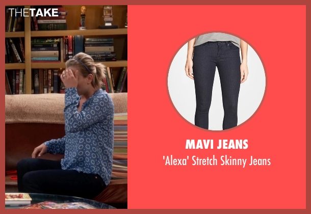 Mavi Jeans blue jeans from The Big Bang Theory seen with Penny (Kaley Cuoco-Sweeting)
