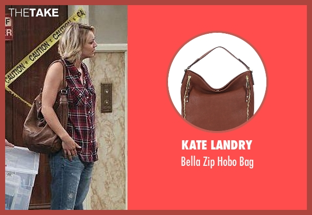 Kate Landry brown bag from The Big Bang Theory seen with Penny (Kaley Cuoco-Sweeting)