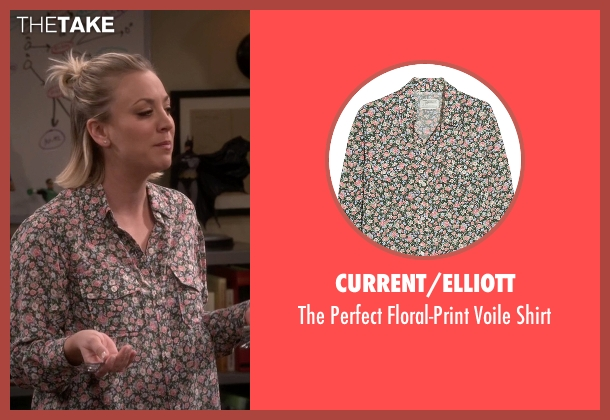 Current/Elliott shirt from The Big Bang Theory seen with Penny (Kaley Cuoco-Sweeting)