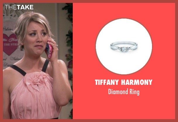Tiffany Harmony silver ring from The Big Bang Theory seen with Penny (Kaley Cuoco-Sweeting)