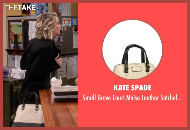 Kate Spade  white bag from The Big Bang Theory seen with Penny (Kaley Cuoco-Sweeting)
