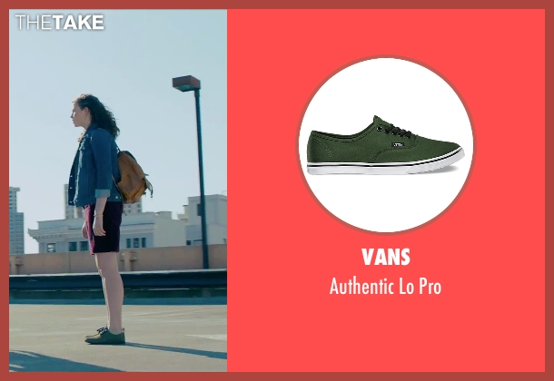 Vans green pro from Steve Jobs seen with Perla Haney-Jardine (Lisa Jobs)