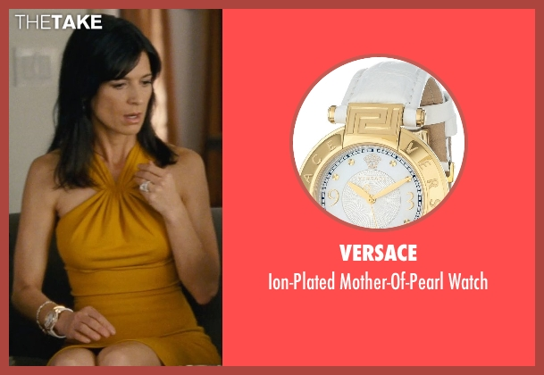Versace white watch from Entourage seen with Perrey Reeves (Melissa Gold)