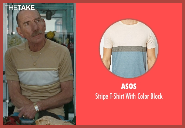 Asos beige block from The Town seen with Pete Postlethwaite (Fergus 'Fergie' Colm)