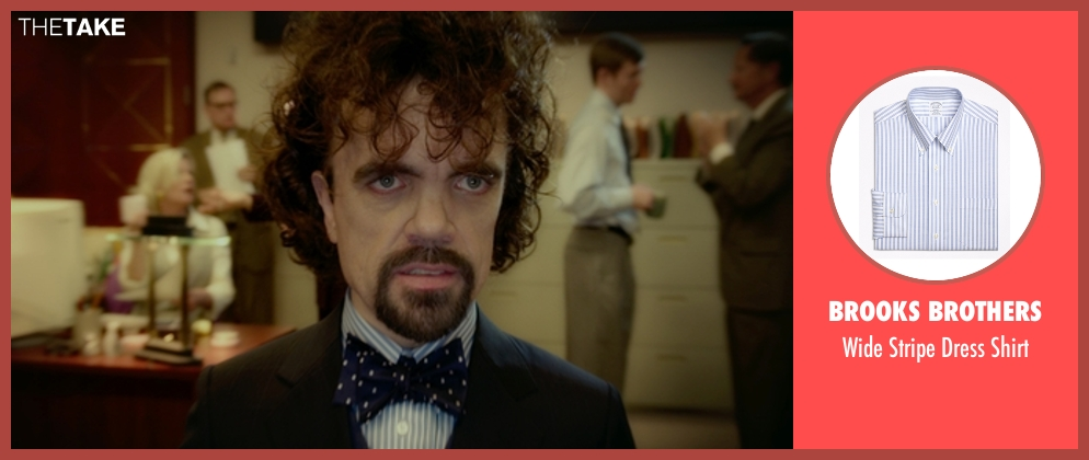 Brooks Brothers shirt from The Boss seen with Peter Dinklage (Renault)