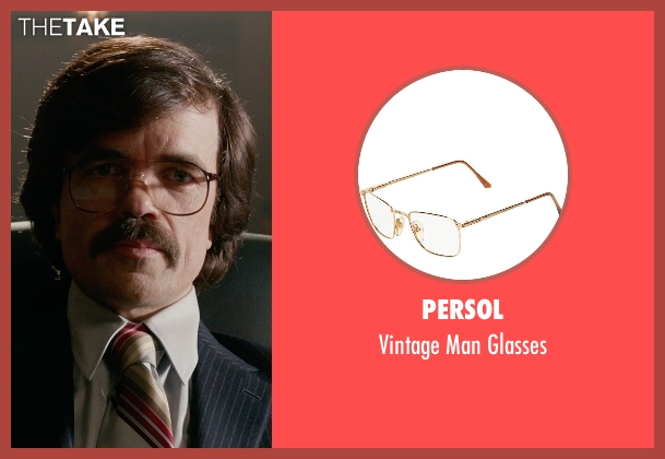 Persol glasses from X-Men: Days of Future Past seen with Peter Dinklage (Bolivar Trask)