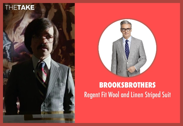 brooksbrothers suit from X-Men: Days of Future Past seen with Peter Dinklage (Bolivar Trask)