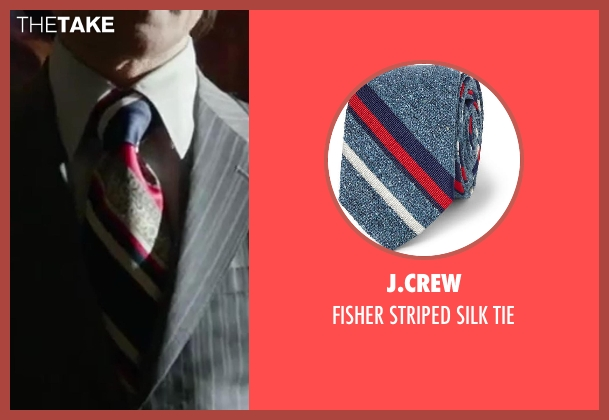 J.CREW tie from X-Men: Days of Future Past seen with Peter Dinklage (Bolivar Trask)