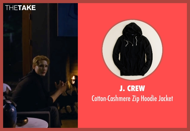 J. Crew black jacket from The Twilight Saga: Breaking Dawn - Part 2 seen with Peter Facinelli (Dr. Carlisle Cullen)
