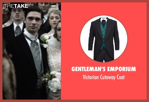 Gentleman's Emporium black coat from The Age of Adaline seen with Peter J. Gray (Clarence James Prescott)