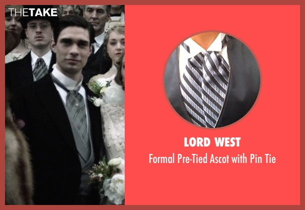 Lord West gray tie from The Age of Adaline seen with Peter J. Gray (Clarence James Prescott)
