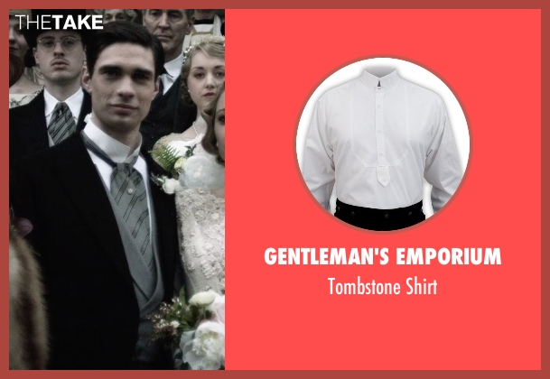Gentleman's Emporium white shirt from The Age of Adaline seen with Peter J. Gray (Clarence James Prescott)