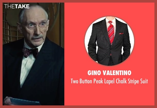 Gino Valentino black suit from Bridge of Spies seen with Peter McRobbie (Allen Dulles)