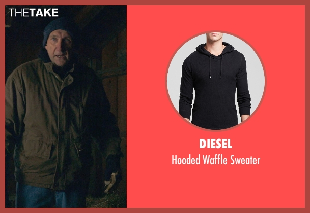 Diesel black sweater from The Visit seen with Peter McRobbie (Unknown Character)