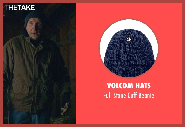 Volcom Hats blue beanie from The Visit seen with Peter McRobbie (Unknown Character)