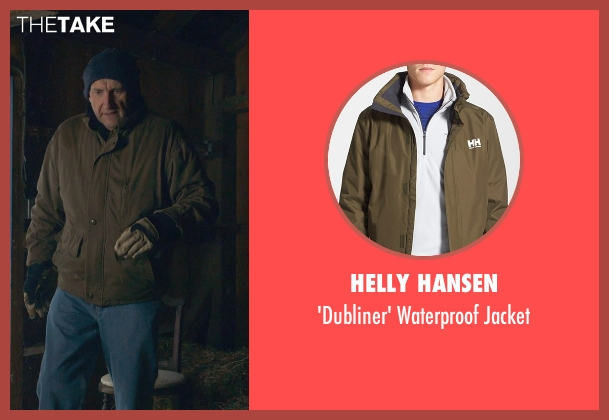 Helly Hansen brown jacket from The Visit seen with Peter McRobbie (Unknown Character)