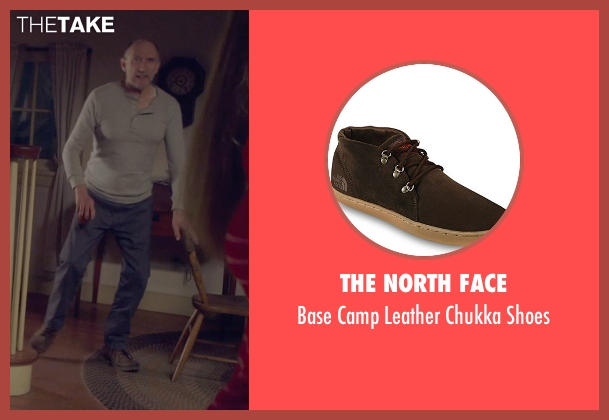 The North Face brown shoes from The Visit seen with Peter McRobbie (Unknown Character)
