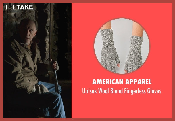 American Apparel gray gloves from The Visit seen with Peter McRobbie (Unknown Character)