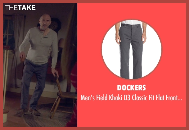 Dockers gray pant from The Visit seen with Peter McRobbie (Unknown Character)