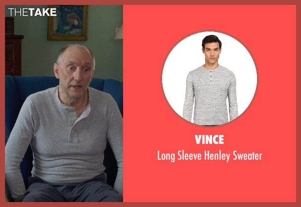 Vince gray sweater from The Visit seen with Peter McRobbie (Unknown Character)