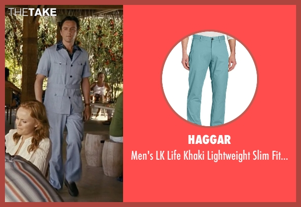 Haggar blue pant from Couple's Retreat seen with Peter Serafinowicz (Sctanley)