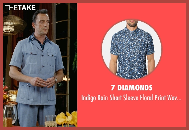 7 Diamonds blue shirt from Couple's Retreat seen with Peter Serafinowicz (Sctanley)