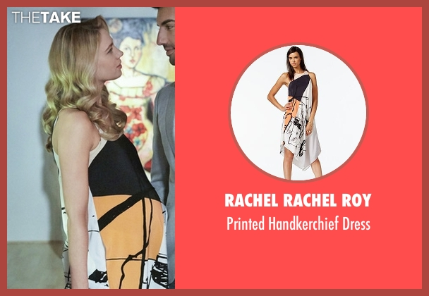Rachel Rachel Roy white dress from Jane the Virgin seen with Petra Solano (Yael Grobglas)