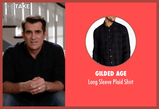 Gilded Age black shirt from Modern Family seen with Phil Dunphy (Ty Burrell)