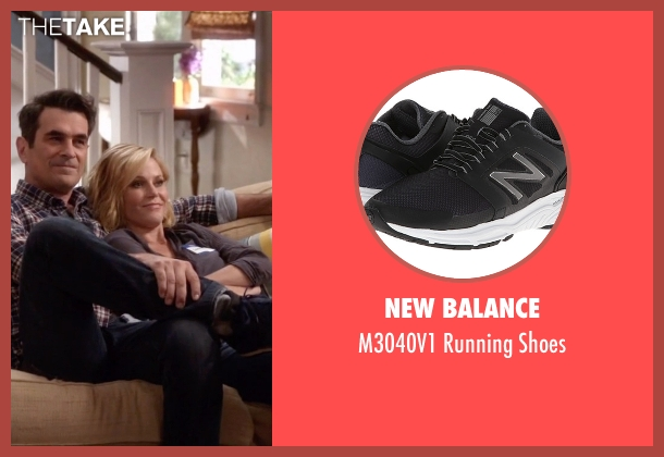 New Balance black shoes from Modern Family seen with Phil Dunphy (Ty Burrell)