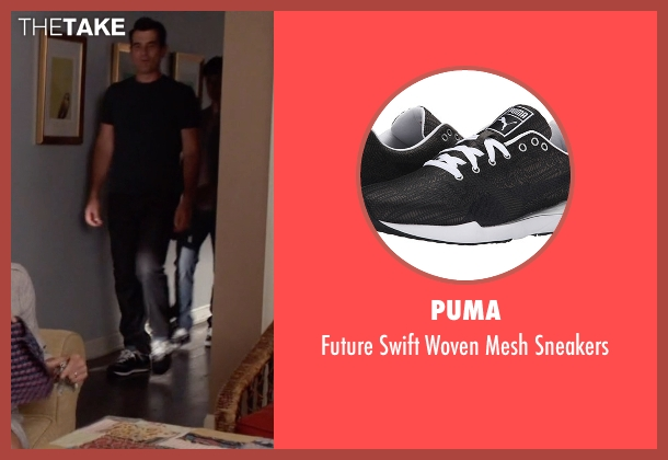 Puma black sneakers from Modern Family seen with Phil Dunphy (Ty Burrell)