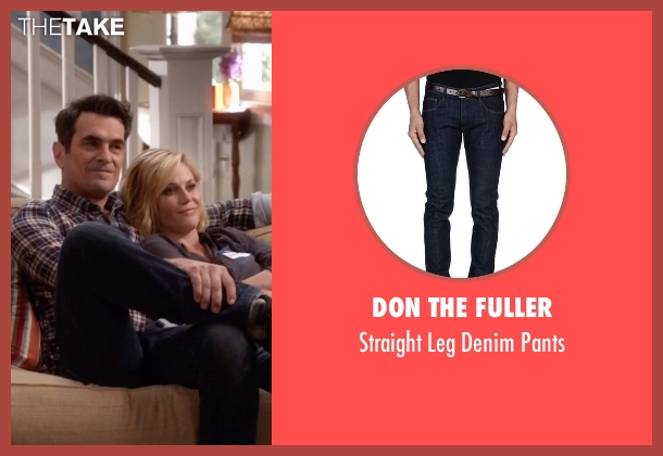 Don The Fuller blue pants from Modern Family seen with Phil Dunphy (Ty Burrell)