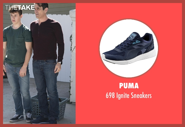 Puma blue sneakers from Modern Family seen with Phil Dunphy (Ty Burrell)
