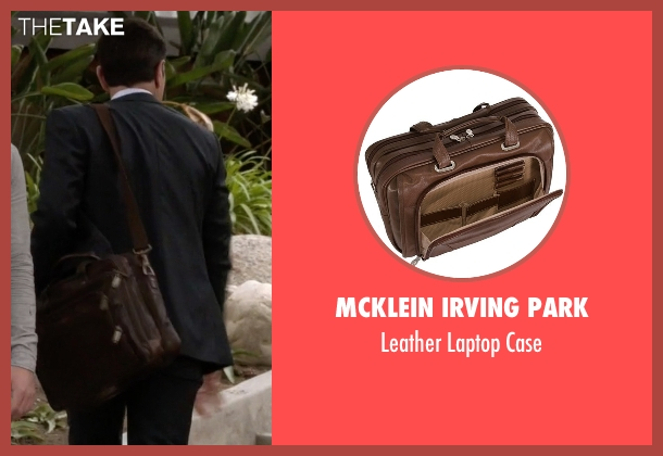 Mcklein Irving Park brown case from Modern Family seen with Phil Dunphy (Ty Burrell)
