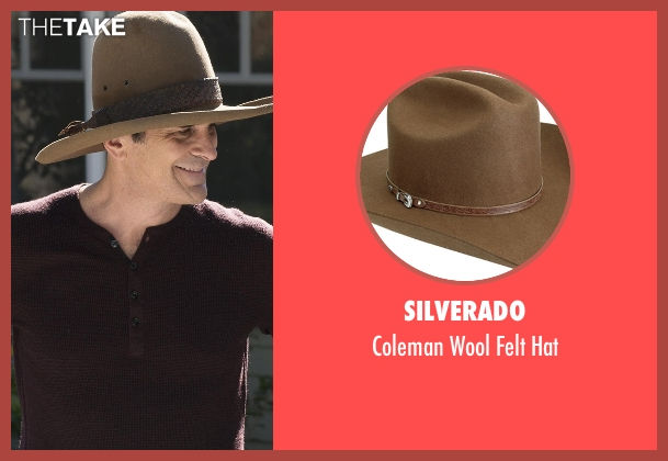 Silverado brown hat from Modern Family seen with Phil Dunphy (Ty Burrell)