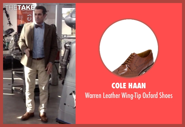 Cole Haan brown shoes from Modern Family seen with Phil Dunphy (Ty Burrell)