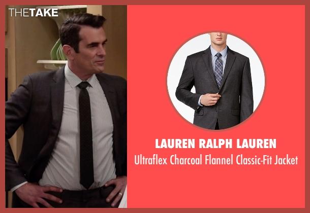 Lauren Ralph Lauren  gray jacket from Modern Family seen with Phil Dunphy (Ty Burrell)
