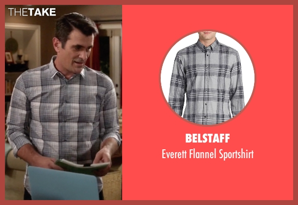 Belstaff gray sportshirt from Modern Family seen with Phil Dunphy (Ty Burrell)