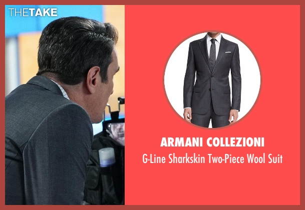 Armani Collezioni gray suit from Modern Family seen with Phil Dunphy (Ty Burrell)