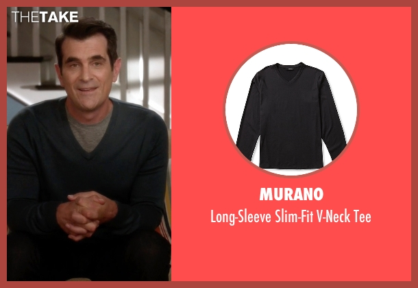 Murano gray tee from Modern Family seen with Phil Dunphy (Ty Burrell)