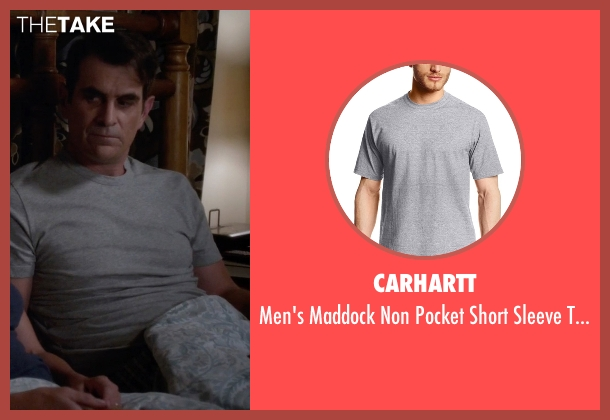 Carhartt gray t-shirt from Modern Family seen with Phil Dunphy (Ty Burrell)