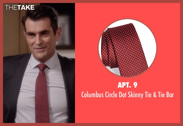 Apt. 9 red bar from Modern Family seen with Phil Dunphy (Ty Burrell)